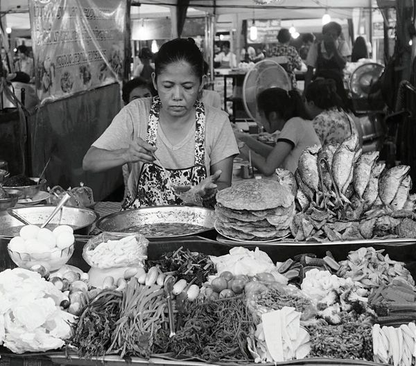 Street Photographer-2016 Eyem Awards Food And Drink Night Photography Street Food Street Vendors Street Photographer Black And White Photography