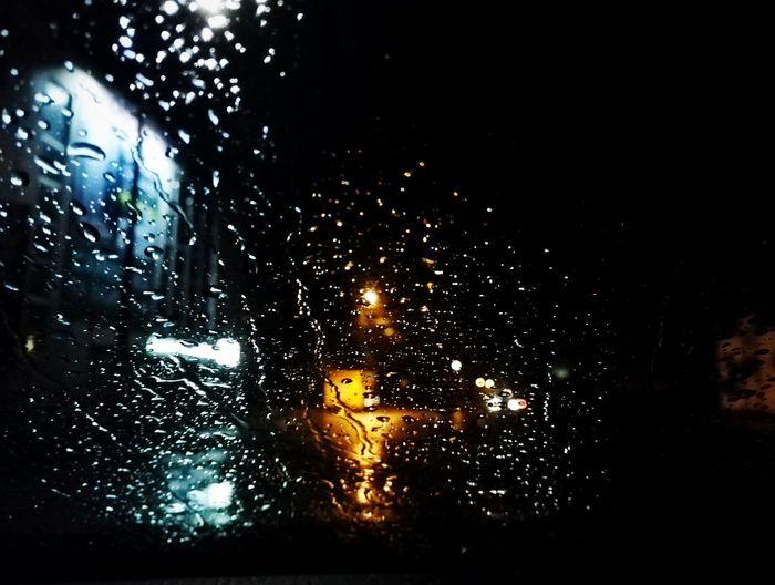 Car Horizontal Night No People Land Vehicle Rain Drop Wet Car Transportation Sky Vehicle Interior Land Vehicle Night No People Rainy Season Water Close-up Horizontal RainDrop Nature Outdoors