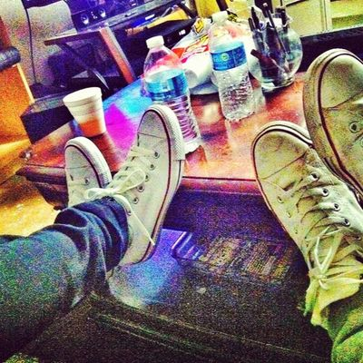 His n hers Converse The Rock Star lifehighlifeshoesfordays