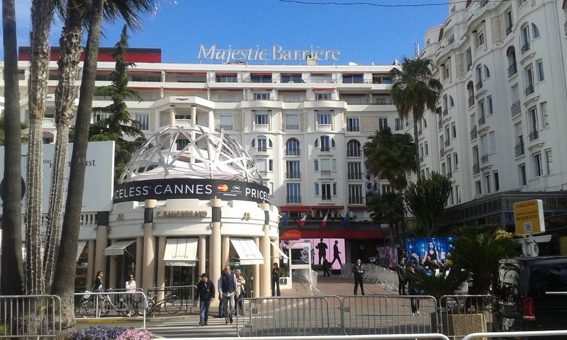 Cannes, France Cannes Hotel Majestic Blanc