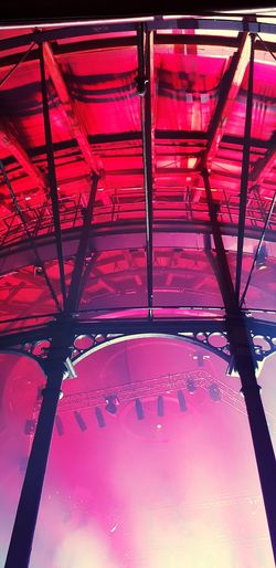 Beautiful Ceiling Structure Roundhouse Camden Town Chalk Farm Machinehead Gigvenue Night Lights Lightphotography Greater London Galaxys8 Colours Ceiling Architectural Design Purple Architectural Detail Recessed Light