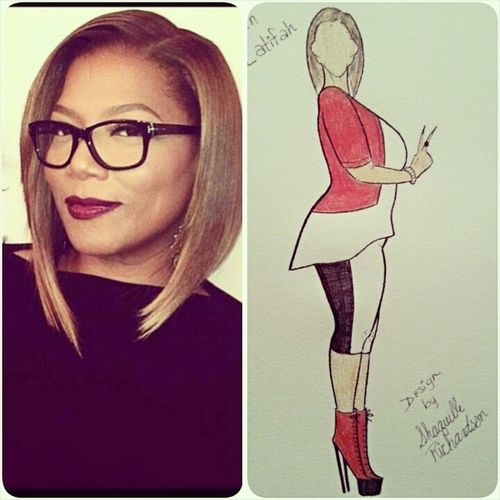 Here's a design I drew of Queen Latifah...can ya'll tag ( @queenlatifah ) so she can see it ? Fashionweek Fashion F4F Fashionillustrator fashionillustration followforfollow fashionblogger follow4follow fashionblog qlshow thequeenlatifahshow queenlatifah celebritystylist celebstylist instadaily illustration instamood instamood igdaily instagood art artist blogger blog beautiful tvhost la love