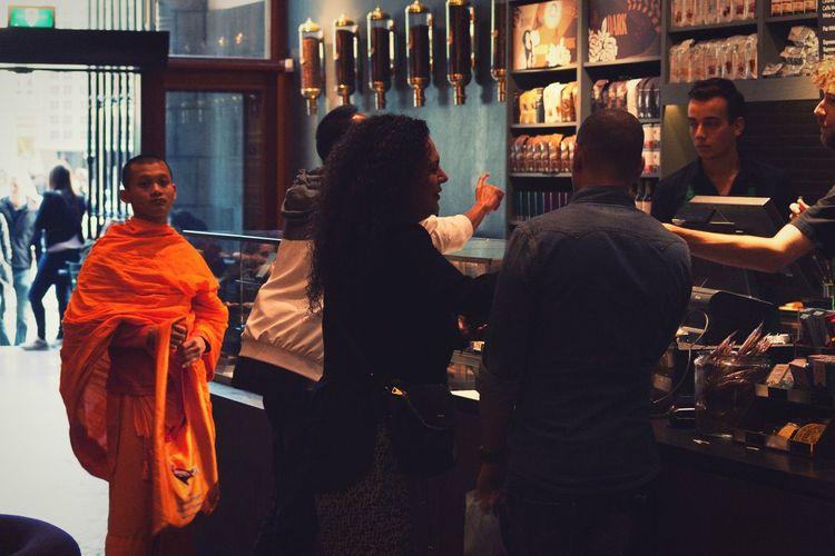 Coffee Monk Men