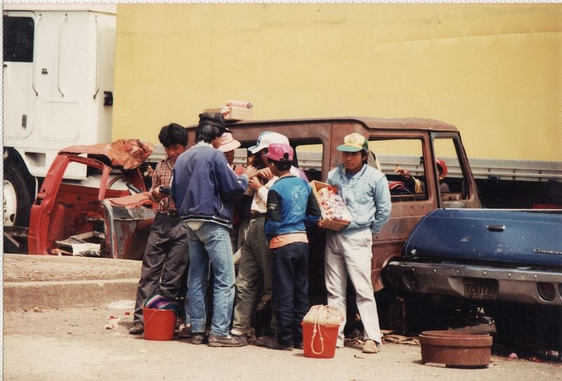 1992 Adult Day Guatemala Mode Of Transport Outdoors People Transportation Travel Travel Photography Workers