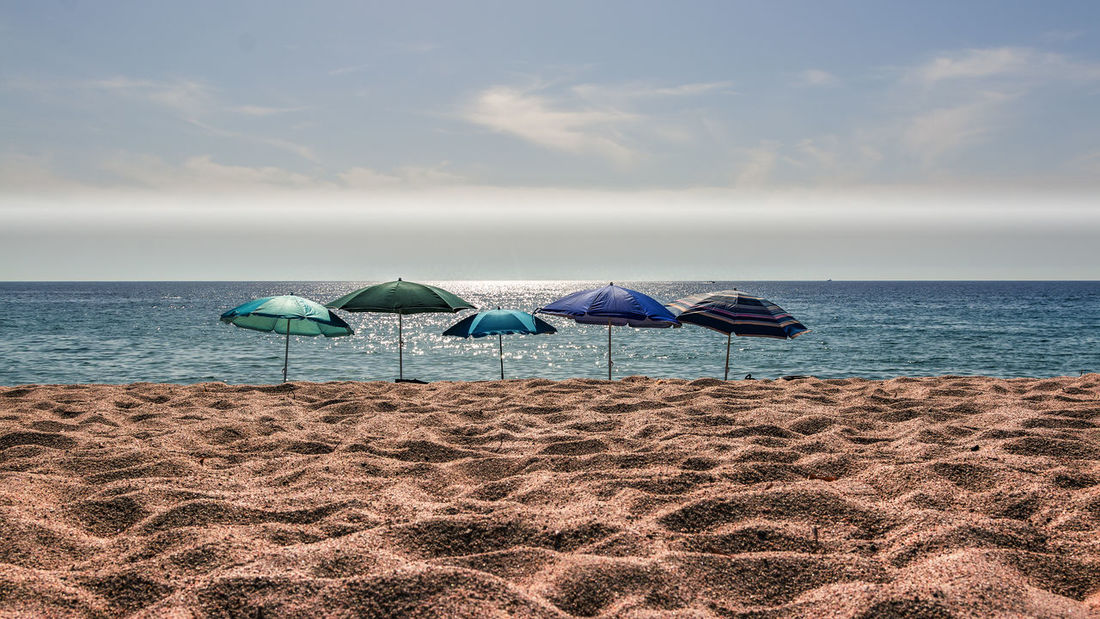 View to Sagone Beach, Corsica Parasols Perspective Beach Beachphotography Beauty In Nature Blue Corsica Day Horizon Over Water Nature No People Outdoors Relaxation Sagone Sand Sand & Sea Sand Dune Scenics Sea Sky Summer Tranquil Scene Tranquility Vacations Water EyeEmNewHere
