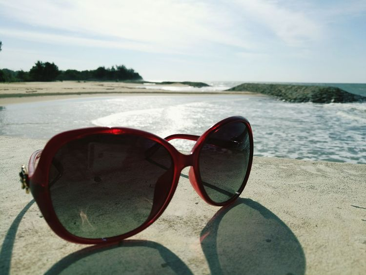 Water Sky Beach Sand Day Nature Outdoors Sunglasses👓 Dior Sea Reflection