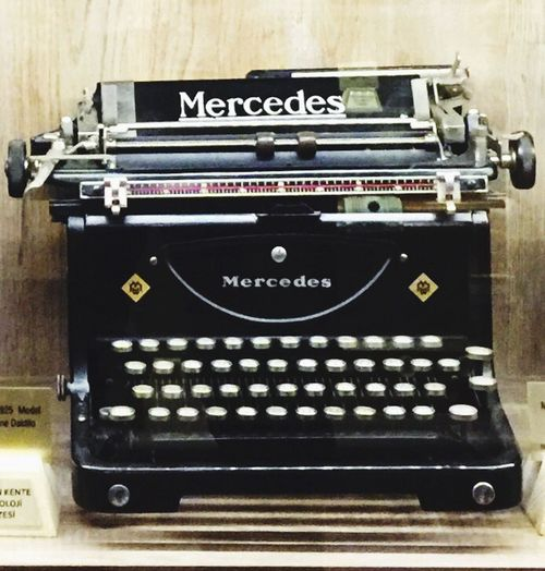 Mercedes Typwriter from 1920s Old But Awesome Old But Gold Oldbutnewtoeyeem Antiques Antique Mercedes