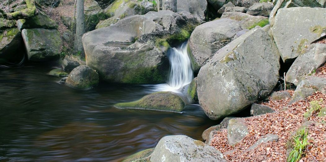 Oler Tor ♡ Waterfall River Water Rock - Object Nature No People Motion Beauty In Nature Outdoors Forest Day Scenics Power In Nature Tree Freshness The Great Outdoors – 2017 EyeEm Awards  Peak District