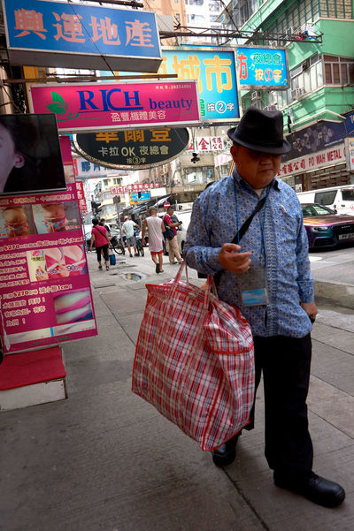 City Life Old Man Street Advertising Casual Style City Lifestyles Market Real People Streetphotography This Is Aging