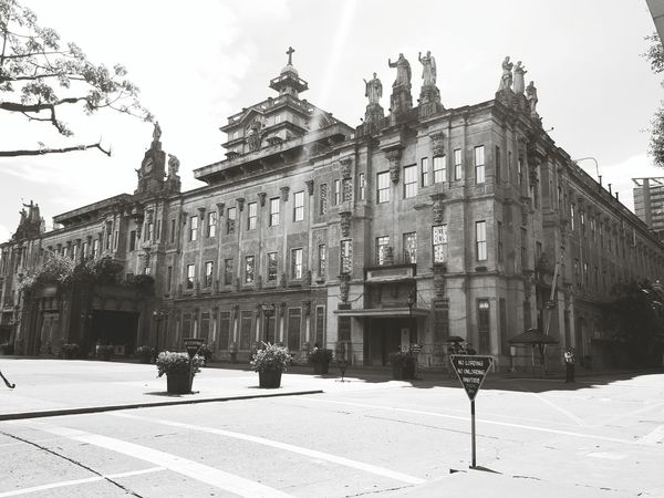 University Of Sto. Tomas University Campus History Architecture Building Exterior Outdoors Travel Destinations Day Sky City Adult People Politics And Government The Architect - 2017 EyeEm Awards