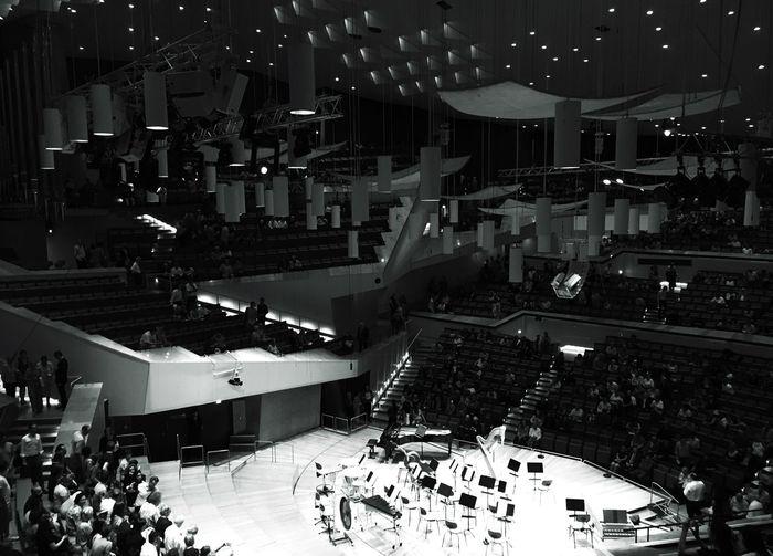 Berlin Berlin Philharmonie Blackandwhite Orchestra