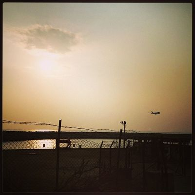 機場維修區 Sunset Nice Weather Mimisphotography Mimis_favourite