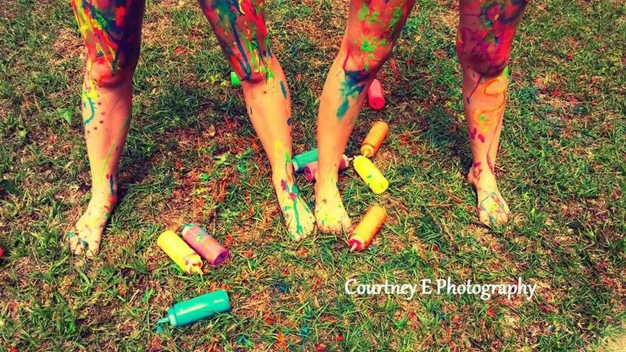 Courtney E Photography Paint War Summer Beautiful Day