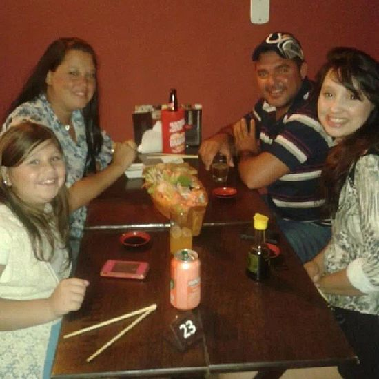 Jantarzinho japa c/ a sister cunha e sobrinha!! Family Love Japafood Smile happy amomuito 4
