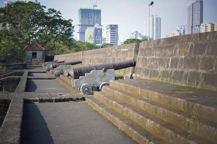Battle Field Cannon Cannons Eyeem Philippines Eyeem Philippines Album Finding New Frontiers Intramuros Intramuros,manila War Memorial