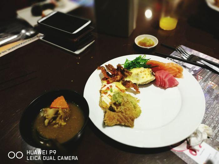 Buffet dinner Healthy Eating Asian Food Shogun Sunway