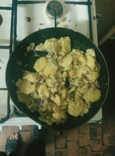 What's For Dinner? Potatoes with mushroom