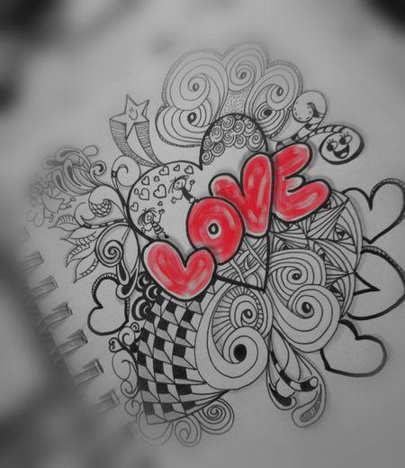 Liebe heilt (für Basti) Love♥ Hearts Send Love Into The World Healinglove Doodle Tangle Bildbearbeitung Kritzelei Liebe Liebe ❤