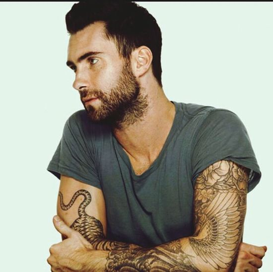 Maroon5 Thevoice Adamlevine Tattoo Tumblr Beutiful  World Love