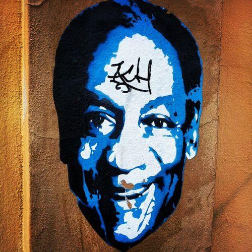 Bill Cosby Street Art