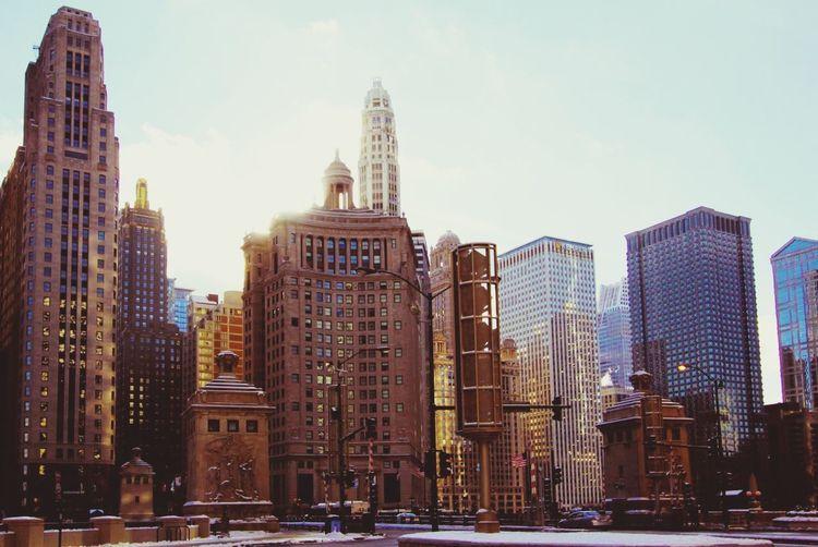 Magnificient Mile Architecture Skyscraper Magnificient Mile Mile Magnificent Chicago Urban Skyline Cityscape No People Day Sky Travel Destinations