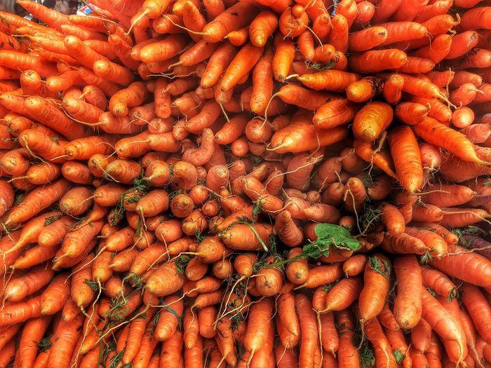 Full Frame Shot Of Carrots
