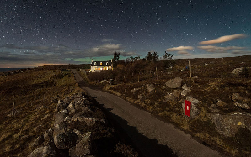 Little cottage under the stars Star - Space Long Exposure Clear Sky Milky Way Scotland EyeEm The Best Shots EyeEmNewHere EyeEm Best Edits Landscape_Collection Cold Temperature EyeEm Masterclass EyeEm Best Shots Let's Go. Together. Nature No People Beauty In Nature