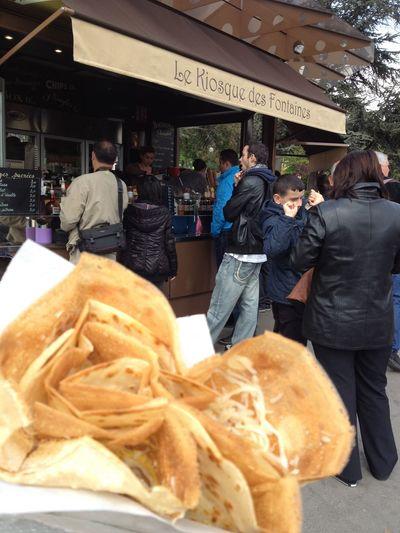 Food And Drink City Food Crape Paris Shop Yummy Crapecake