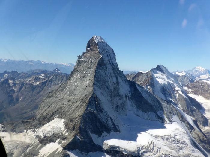Matterhorn  Beauty In Nature Cold Temperature Formation Landscape Mountain Mountain Peak Mountain Range Scenics - Nature Sky Snow Snowcapped Mountain Swiss Alps Switzerland