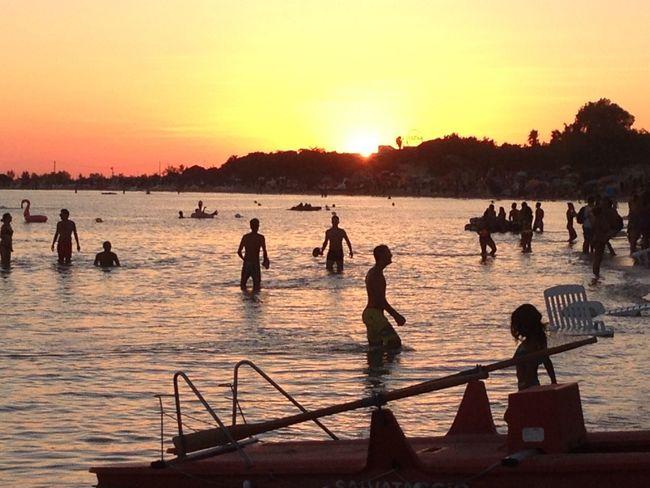 Lecce Mare Tramonto Beach Cielo Ombre Sole Spiaggia Sun Sunset Torrelapillo