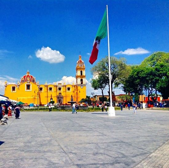 En el hermoso Cholula, Puebla HermosoMexico Màgico