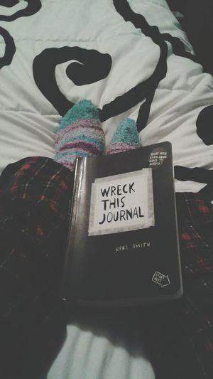 Wreckthisjournal ♡♡♡♡♡
