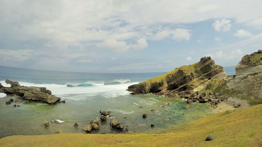 batanes landscape 2 Beauty In Nature Landscape Landscape Photography Landscape_Collection Landscape_photography Landscapes Nature Outdoor Photography Sea Sea And Sky Seascape Seascape Photography Sky Tectonic Tectonic Plates And Earthquakes Wave Waves Waves Crashing Waves, Ocean, Nature
