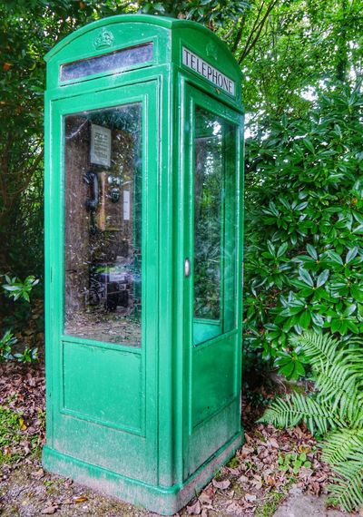 From My Point Of View EyeEm Nature Lover Late Summer Quite Afternoon It's All Green Garden Telephone Booth