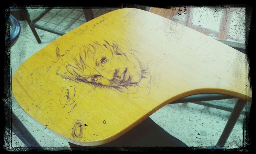 Art, Drawing, Creativity Heartart Art Amazing View my chair tattoos. at my university.loool..