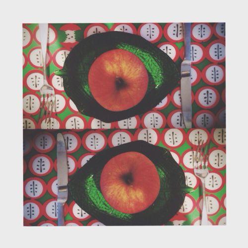 Goodmorning :) おはよう Breakfast Apple うまい Fruit おはようにっぽん🇯🇵おはようせかい🌏今日も一日ガンバロウ