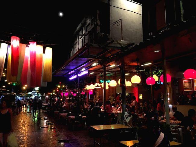 Bangkok Khaosanroad Colorfulbangkok Colourful Night Lights Colourfullife Multi Colored Jelee Night
