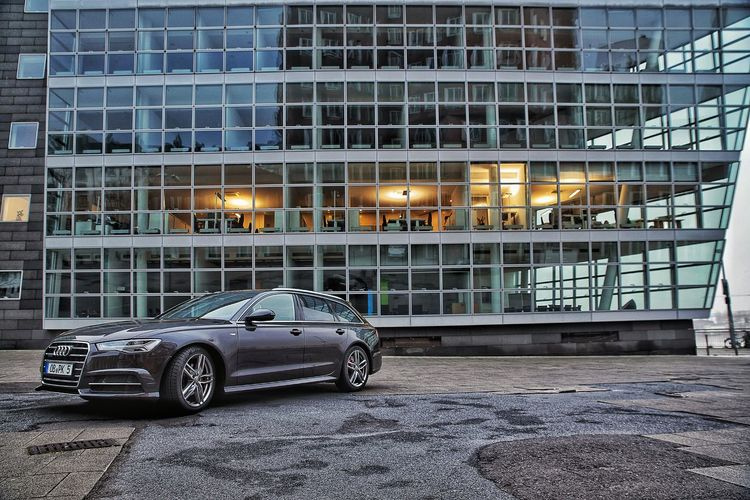 dreams can come true Car Exterior Auto HDR Stationwagon Audi Night Building Exterior No People Outdoors EyeEmNewHere