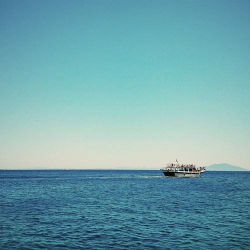 Vscocam Datça Bodrum Mediterraneansea Sea water tranquility ship