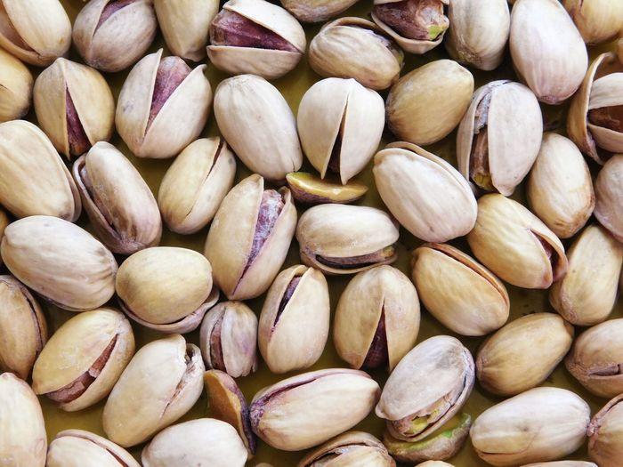 Full frame shot of onions