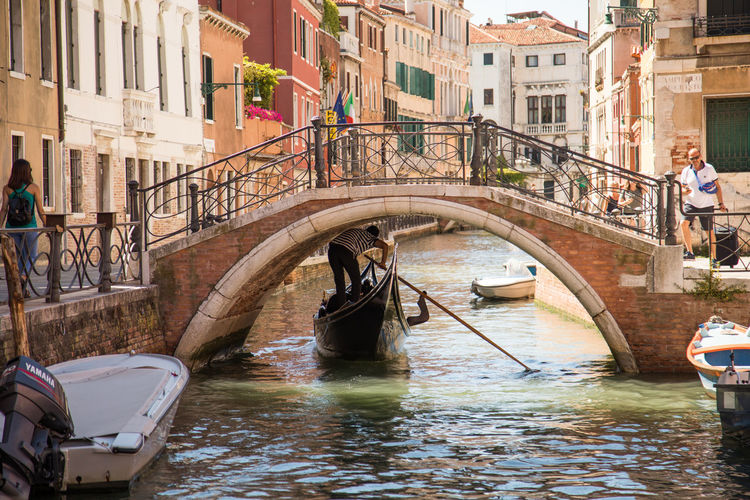A Day in Venice Architecture Building Exterior Built Structure Canal Day Gondola Gondola - Traditional Boat Mode Of Transport Oar Outdoors Travel Destinations Travel Photography