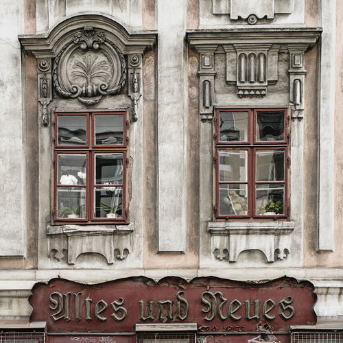 Antique Shop Architecture Austria Building Exterior Day Historic Building History Letters New No People Old Old Fashion Style Outdoors Shop Sign Signboard Text Thrift Shop Used Goods Used Things Vienna Windows