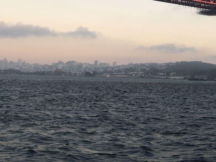 Water Sky Fog