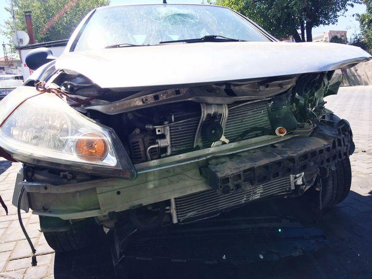 Kötü bir durum Car Kaza