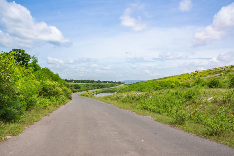 Countryside Empty Road Highway Horizontal Landscape Journey Mountain Nobody Outdoors Pathway Picturesque Road Rural Scenery Sky Travel Trip View Way