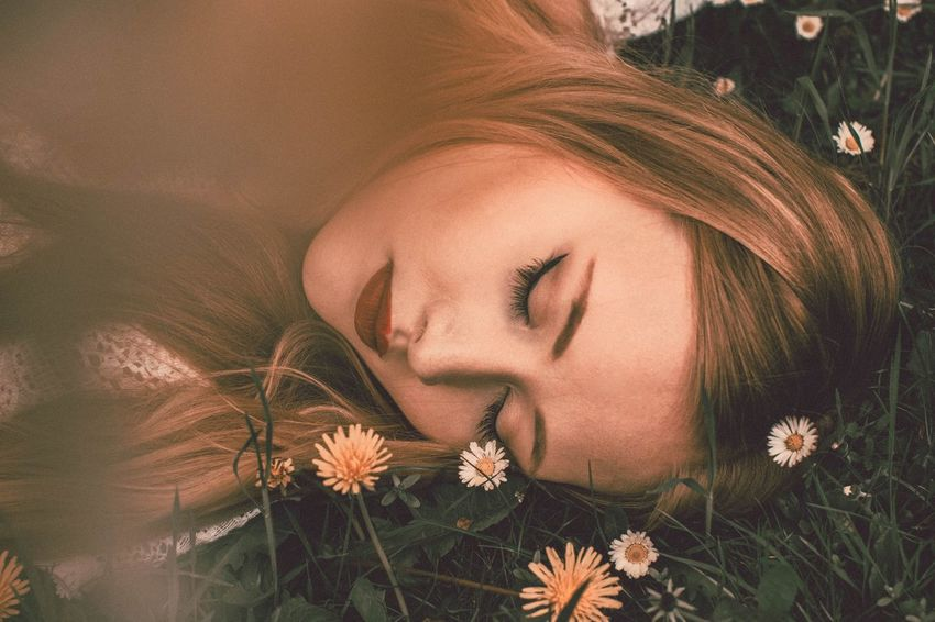 """""""Even the magnificent roses have thorns, darling. Build your own shield, and do not let the world break it"""" Flower Young Adult One Person Plant Nature Beauty Model Girl Photo Of The Day Photographer Outdoor Photography EyeEmNewHere Springtime Photoshoot Photography Photoart Portrait Photoshop Blond Hair The Portraitist - 2017 EyeEm Awards"""