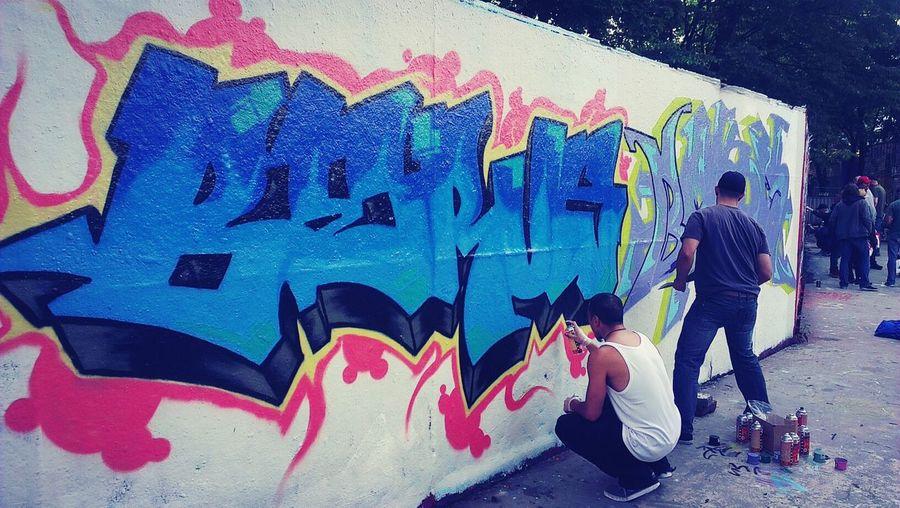 The Real Deal Jam @ Oslo. Graffiti art