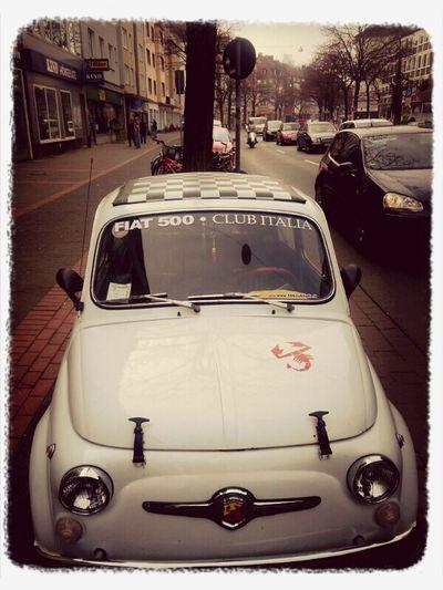 Fiat 500 Abarth Oldtimer Retro Cars City Life