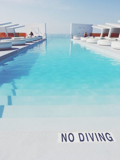 Sommergefühle EyeEm Selects Water Text Sea Nautical Vessel Day Swimming Pool No People Sky Outdoors Vacations Beauty In Nature Nature Travel Destinations Beach Horizon Over Water