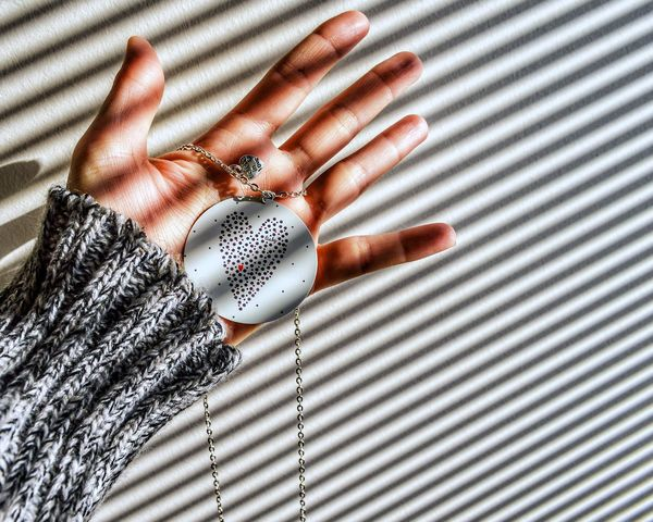 believe in love Human Body Part Human Hand Holding Shadow And Light Light And Shadow Creative Light And Shadow Creative Photography Getting Inspired Jewelry Art Art Is Everywhere Love Striped Pattern Fashion Clothing Textile Luxury Indoors  Close-up Backgrounds EyeEm Ready